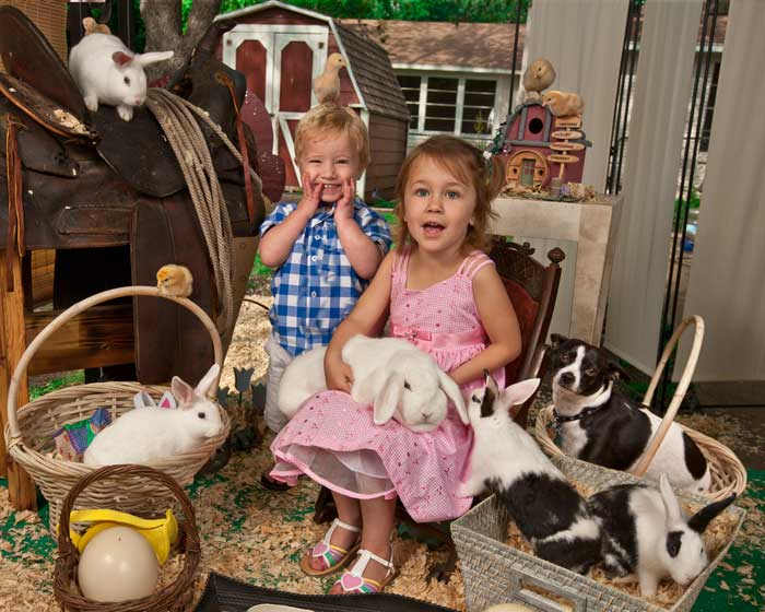 Easter Bunny photos by juan carlos of entertainment photos
