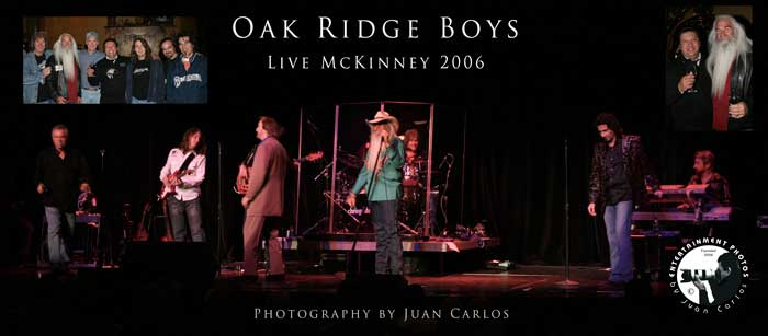 Oak Rige Boys photos by Juan Carlos of Entertainment Photos in McKinney Texas