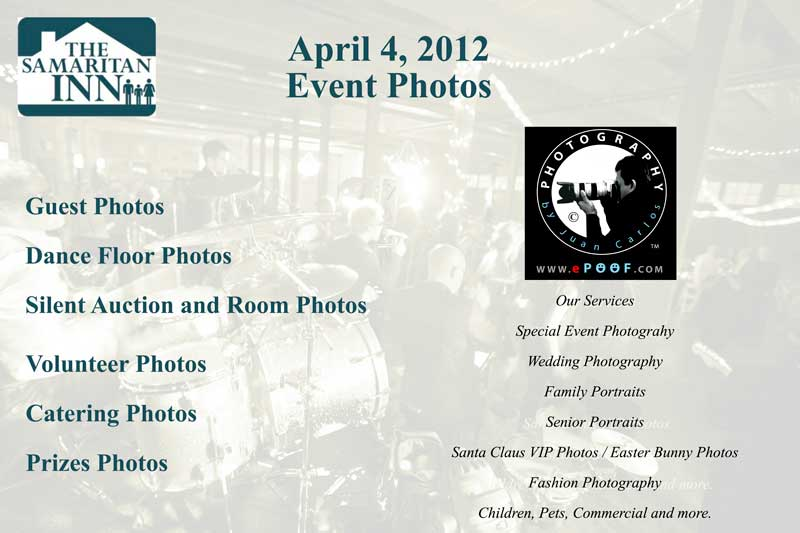 Samaritan Inn non profit Photographer by juan carlos of entertainment photos
